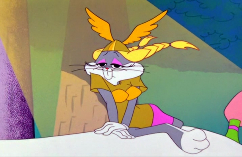 Bugs Bunny's moments in drag inspired RuPaul