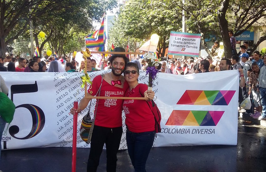 LGBTI people were particularly targeted during the civil war in Colombia