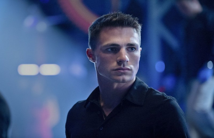 Colton Haynes was a regular on The CW's Arrow gay actors