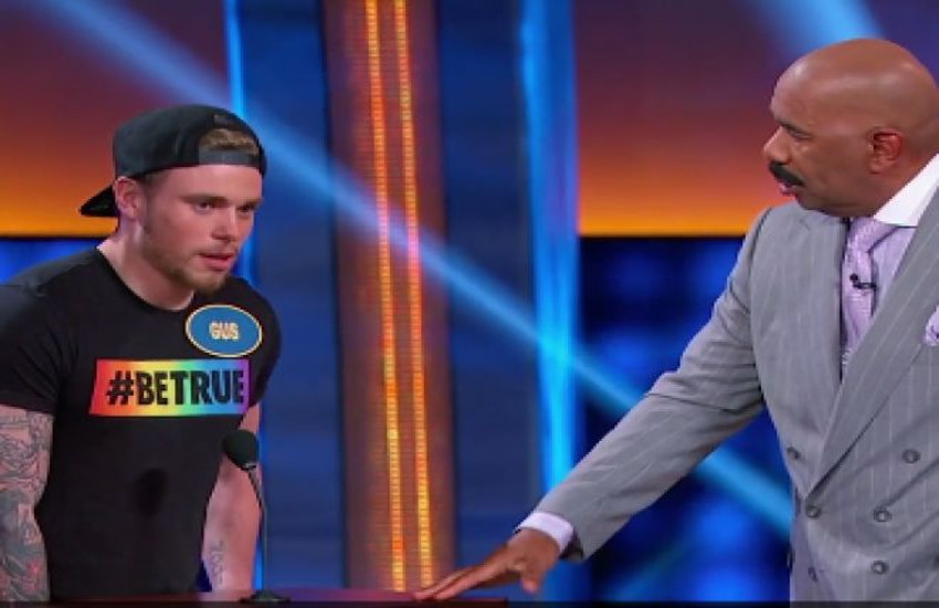 Gus Kenworthy and his family competed on Celebrity Family Feud.