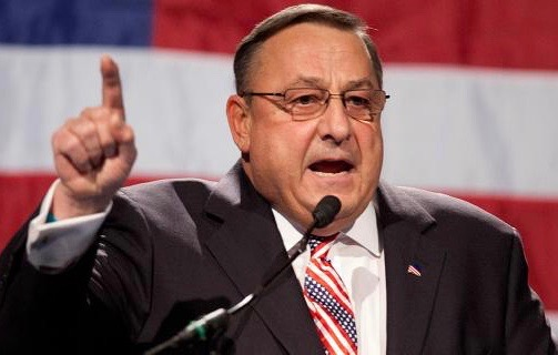 Maine Governor Paul LePage leaves a hate filled voicemail message