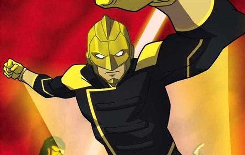 Raymond Terrill will be the CW's openly gay superhero