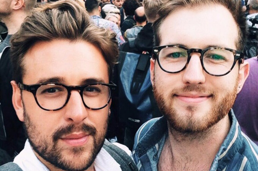 Thomas Rees and boyfriend were insulted in Sainsbury's