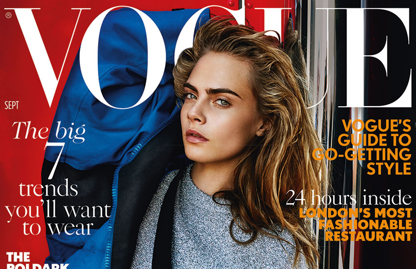Supermodel Cara Delevingne has opened up about her relationship in a new interview with fashion magazine Vogue