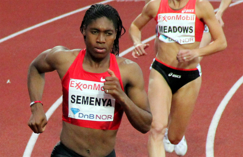 South Africa's Caster Semenya athletes
