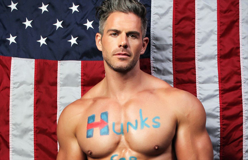 Eric Turner is backing Hillary Clinton