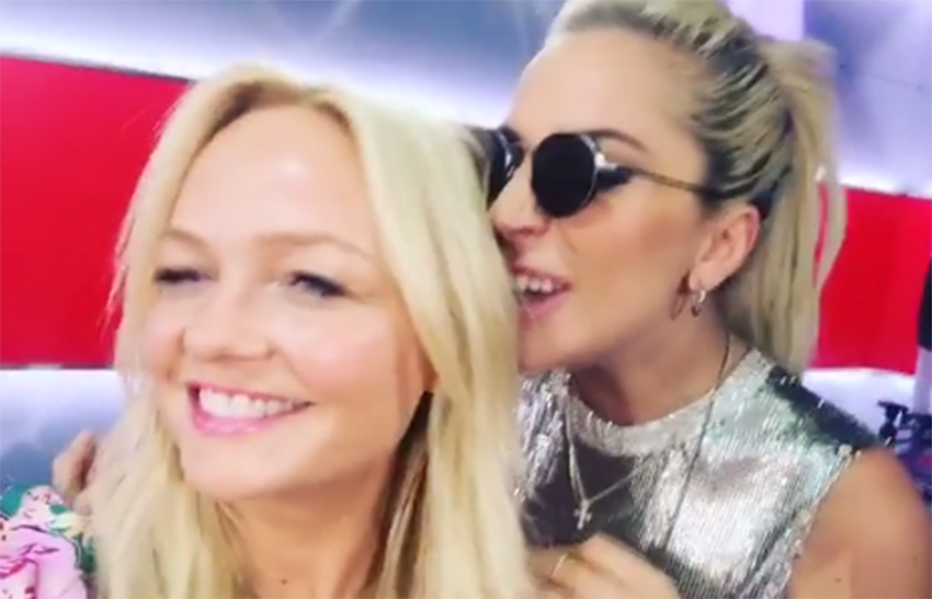 Emma Bunton and Lady Gaga get intimate for duetEmma Bunton and Lady Gaga get intimate for duet