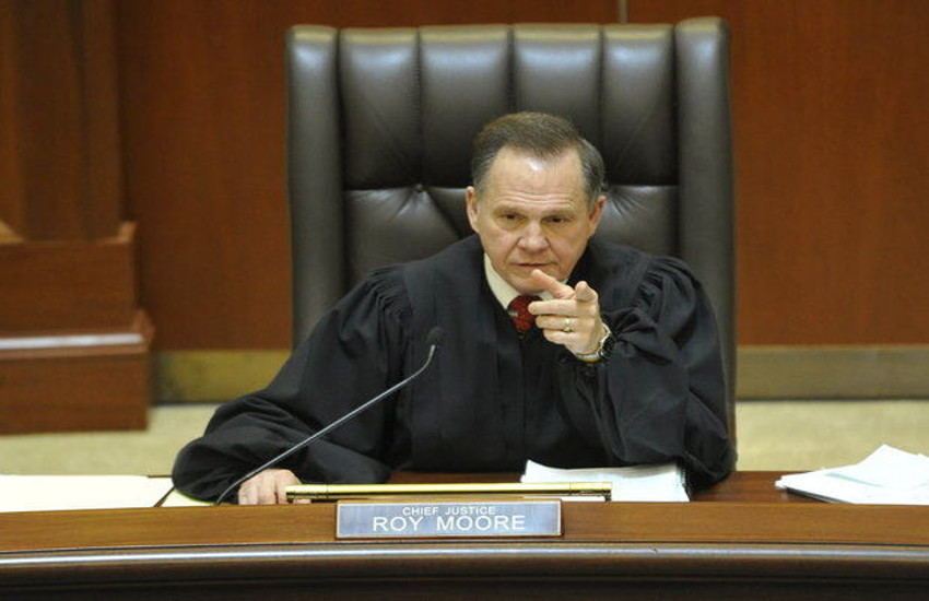Roy Moore was first removed as Alabama Supreme Court Chief Justice in 2003 then suspended last year.