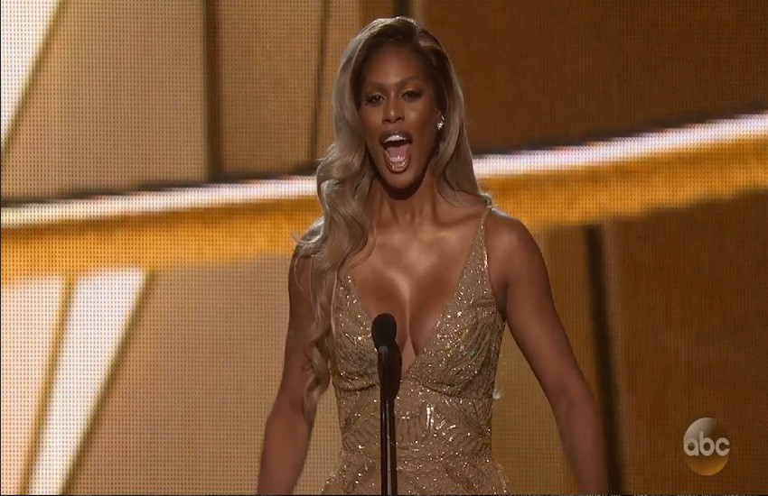 Laverne Cox os one of the stars of the CBS drama Doubt.