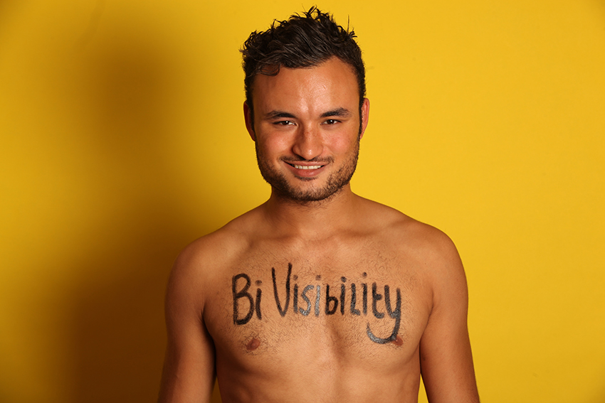 Lewis Oakley takes on biphobia on Bi Visibility Day
