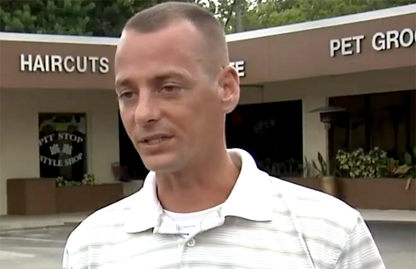Ex-marine told he cannot kiss his boyfriend in 'patriotic' sports bar