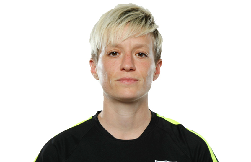 Megan Rapinoe came out publicly in 2012