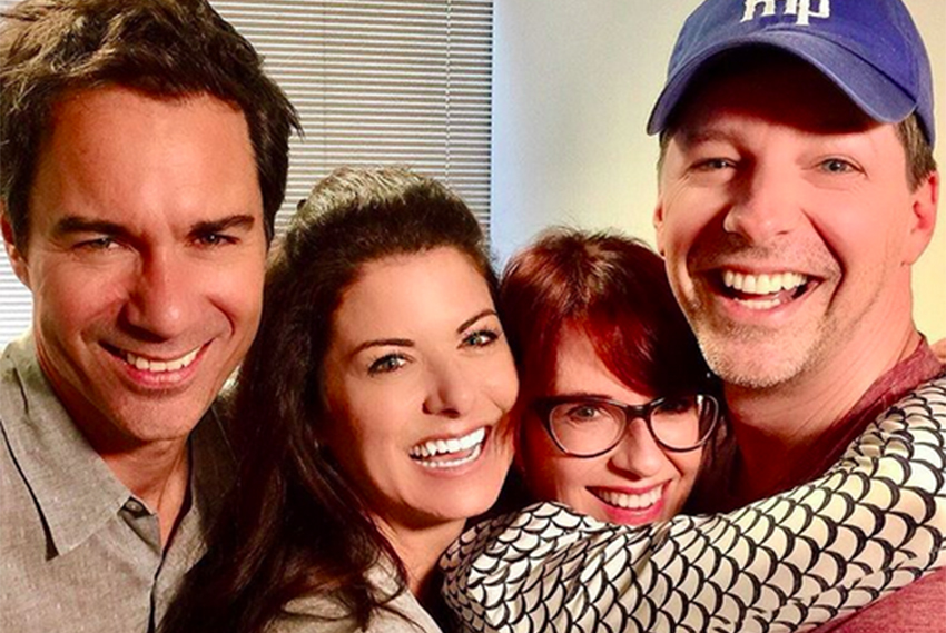 Will & Grace cast first reunited for mini episode in support of Hillary Clinton.