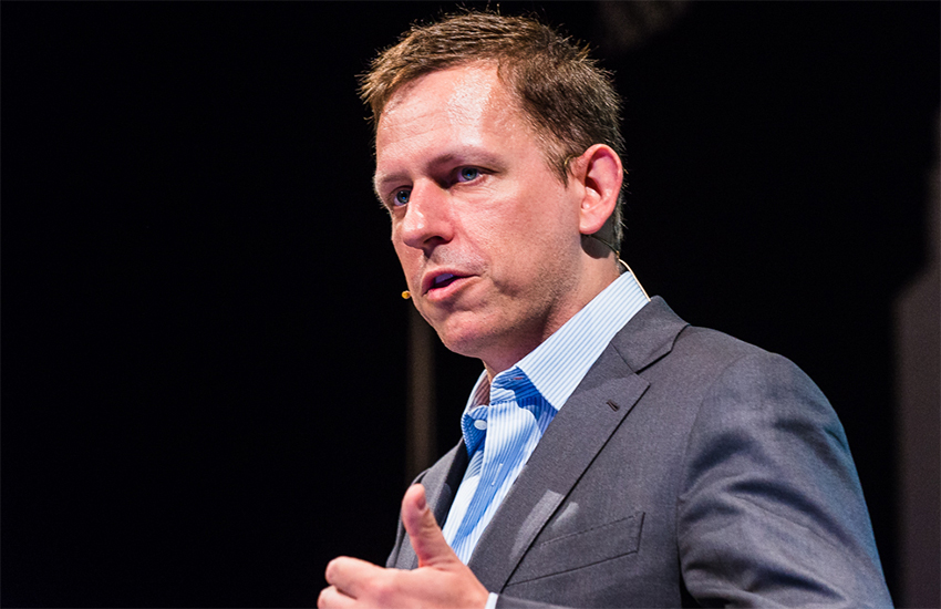 Peter Thiel co-founded PayPal and was an early investor in Facebook