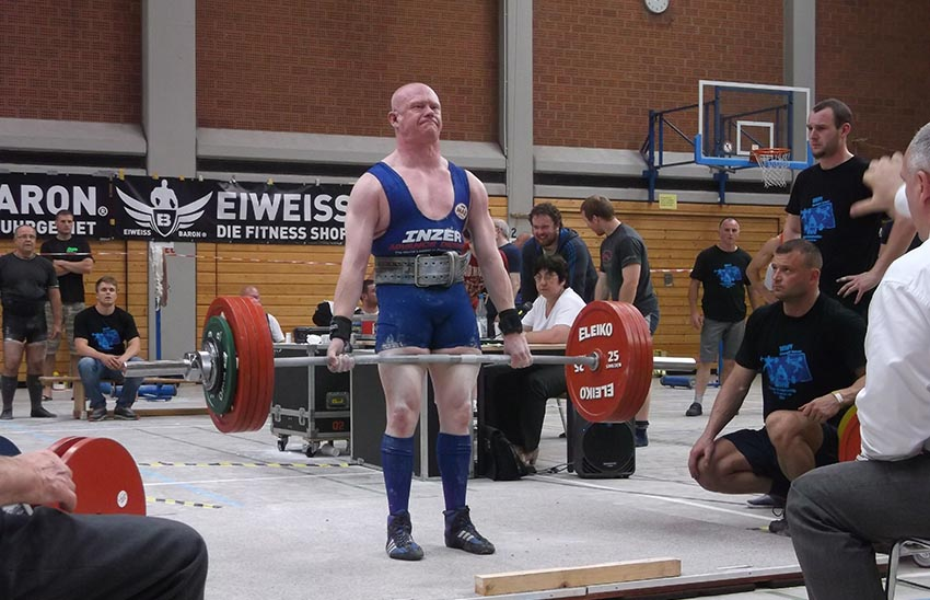 Powerlifter Chris Morgan: World Champion eight times and winner of six Gay Games gold medals.