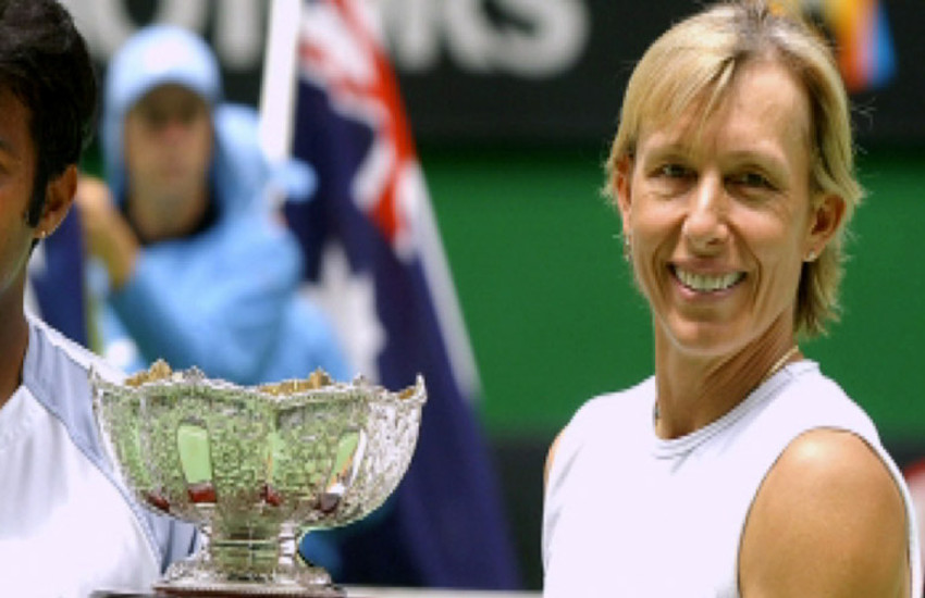 Martina Navratilova won a record 167 singles titles and 167 doubles crowns in her legendary career.
