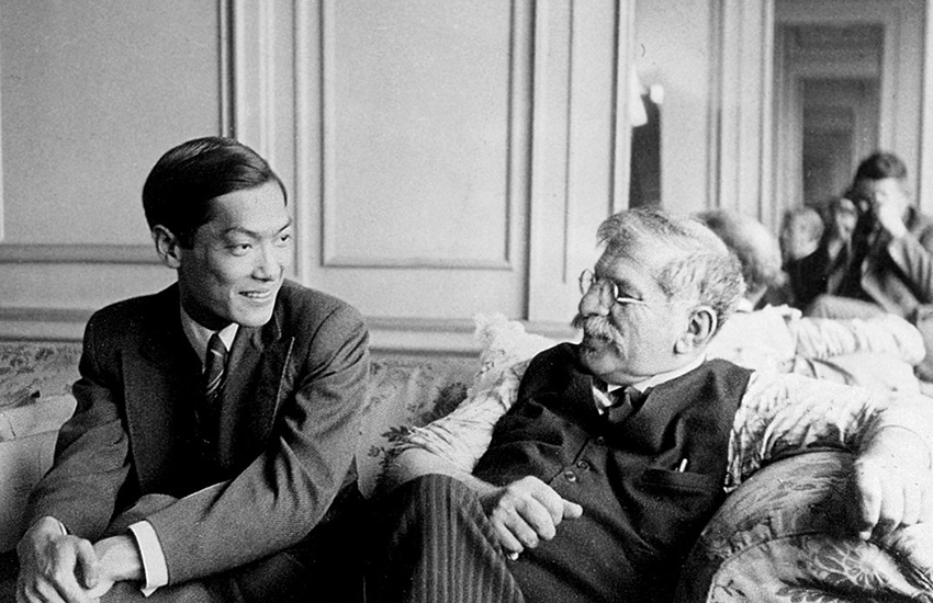 Magnus Hirschfeld (right) also founded the World League for Sexual Reform