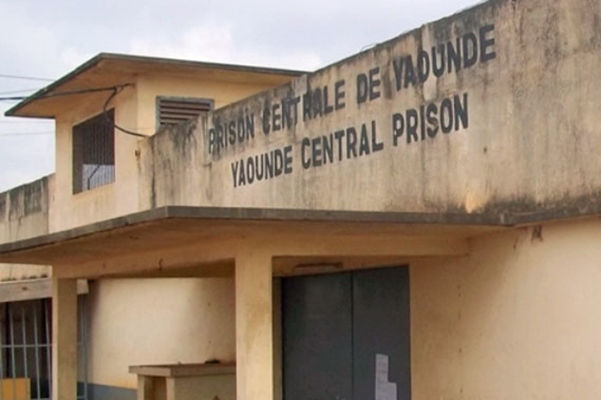 Yaounde prison in Cameroon holds many men arrested for being gay