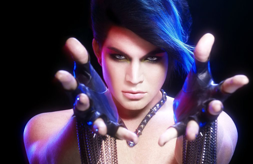 Adam Lambert's 2009 debut album was paired with striking imagery that played with ideas of gender
