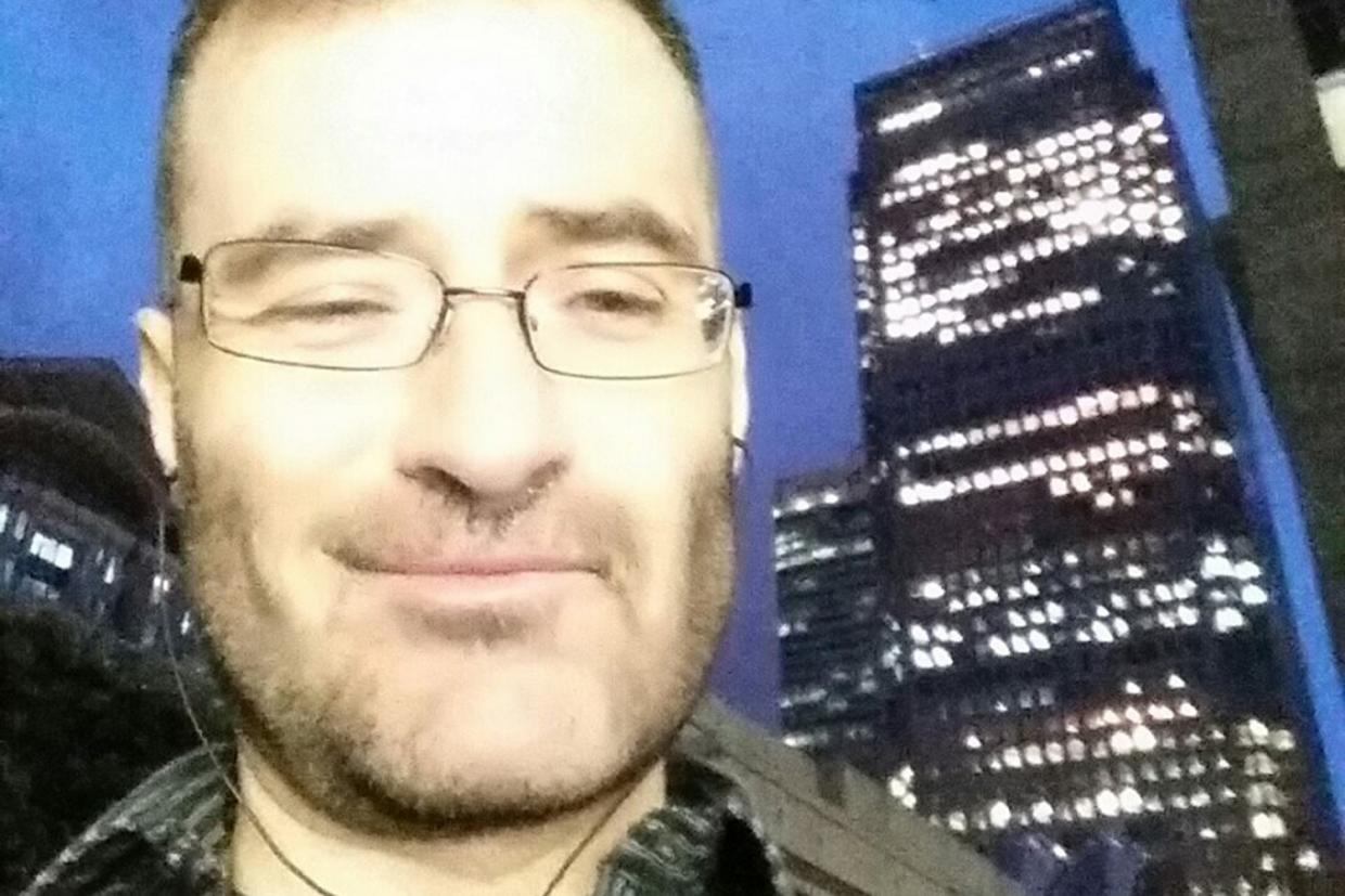 Stefano Brizzi (pictured) allegedly strangled, dismembered and ate portions of PC Gordon Semple.