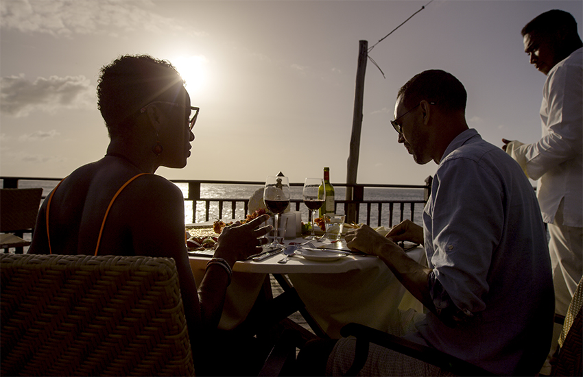 Celebrity Cruises are offering a new dining experience for those stopping off in Antigua