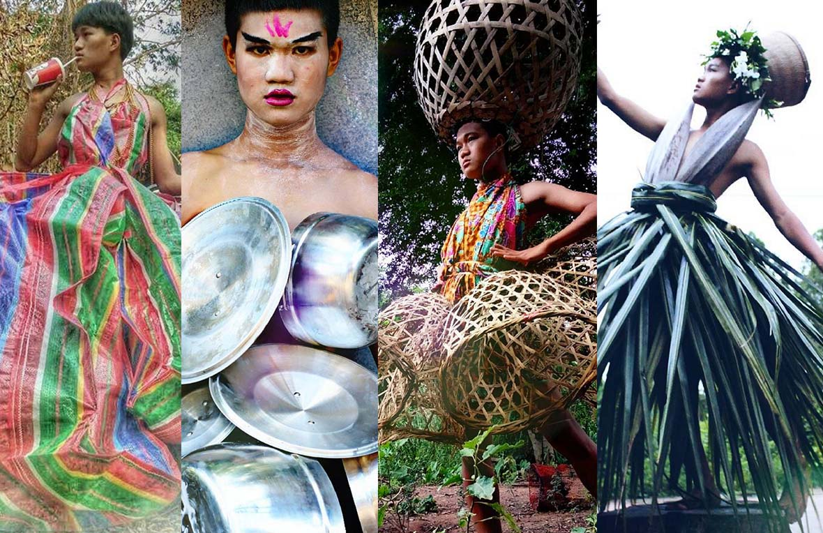 17 Year Old Thai Fashion Designer Madaew Turns Heads With His Unconventional Looks