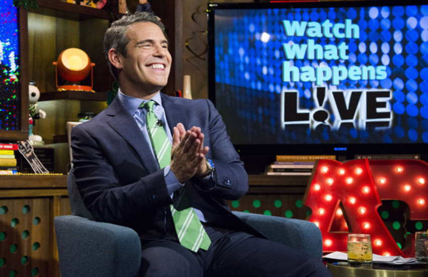 Andy Cohen is the first openly gay host of a US late night talk show.