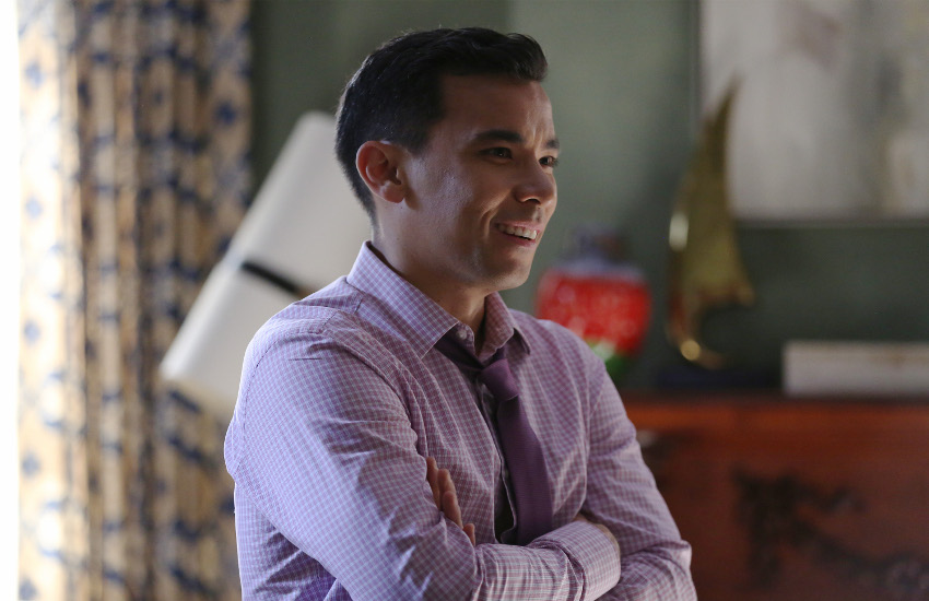 How to Get Away With Murder star Conrad Ricamora