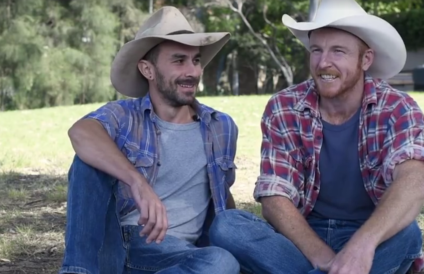 Dan and Miki own a cattle farm in New South Wales
