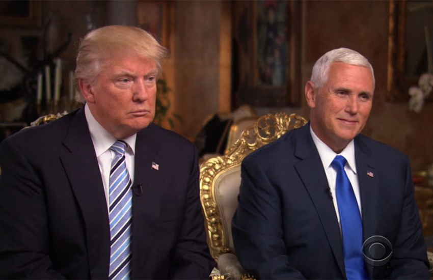 Donald Trump and Mike Pence are now president-elect and vice president-elect
