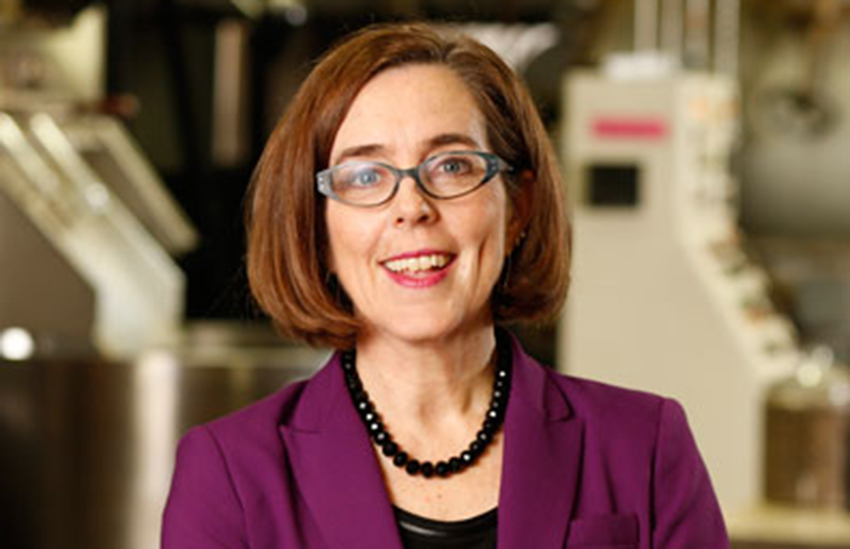 Kate Brown is the pro-LGBTI governor of Oregon