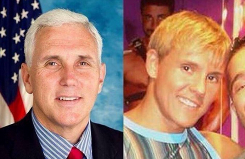 Mike Pence is not secretly porn star Brad Patton