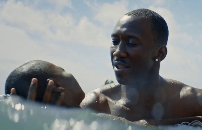 Moonlight focuses on three stages of a gay man's life.