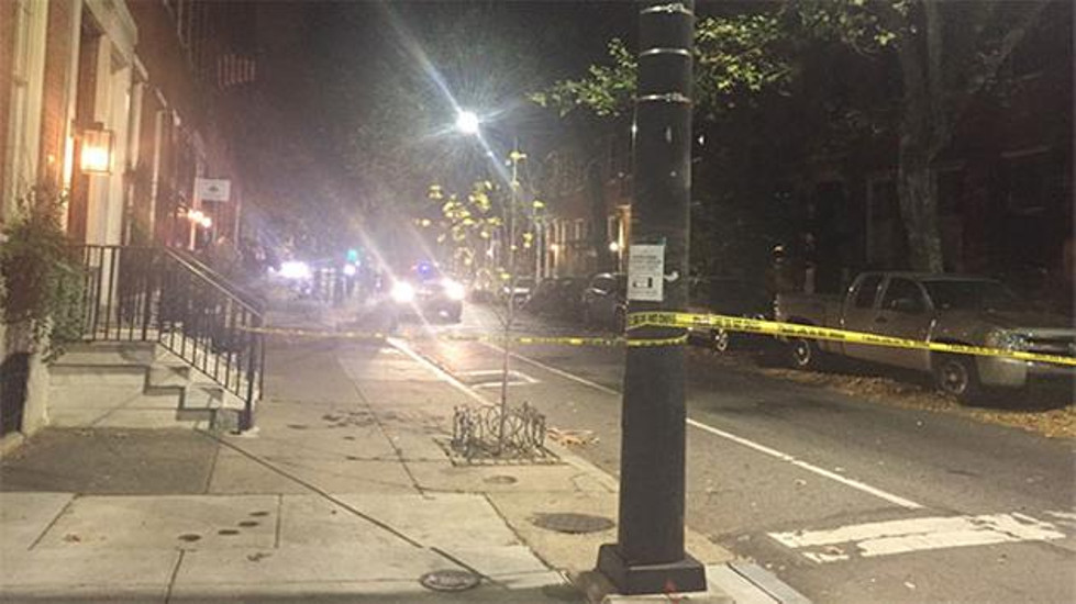 A bomb went off inside a home on Pine Street in Center City Philadelphia.