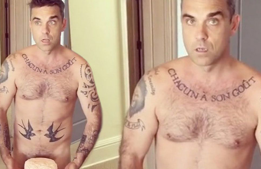 Robbie Williams wishes he was gay so he could have 'sex on tap'