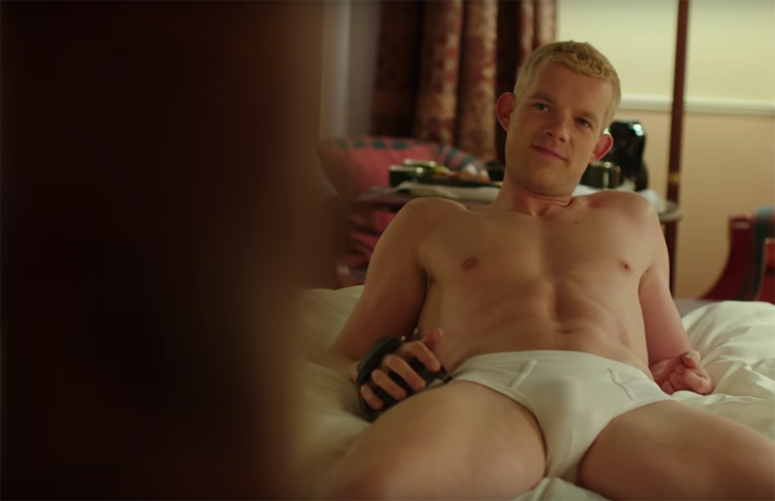Russell Tovey stars in The Pass, about a gay footballer