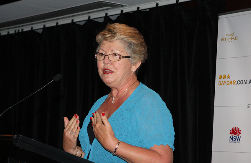 Marriage equality campaigner Shelley Argent opposed the plebiscite.