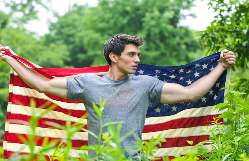 Steve Grand came to fame with All-American Boy, a song about unrequited gay love