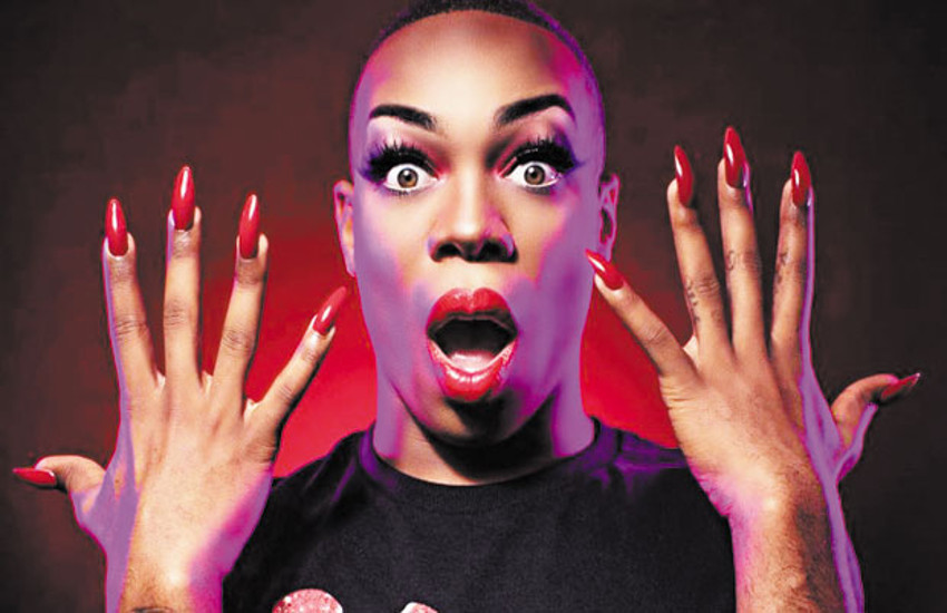 Todrick Hall stars as Lola in Kinky Boots on Broadway.