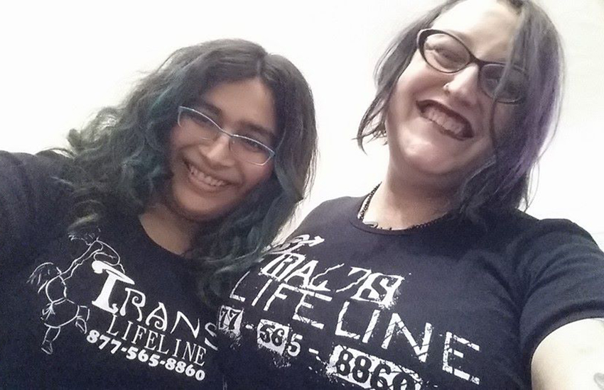 Trans Lifeline took a record number of calls on US election night