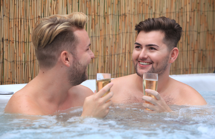 Winter is the perfect season to enjoy a hot tub