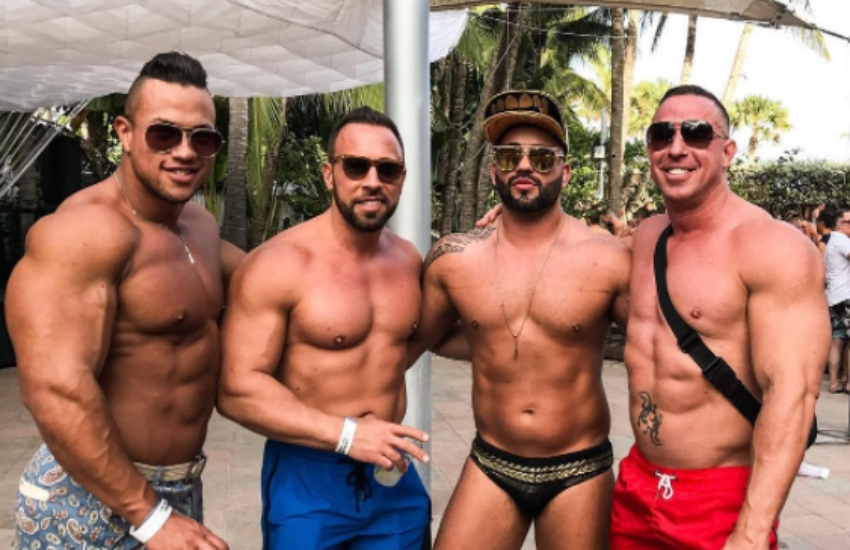 White Party Miami returned in full force this weekend