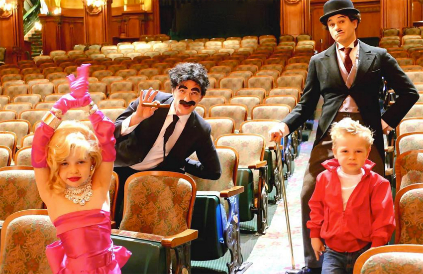Neil Patrick Harris and David Burtka dressed their kids as Marilyn Monroe and James Dean for Halloween this year.
