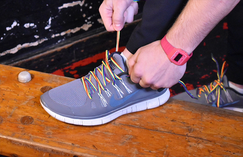 The Rainbow Laces campaign raises awareness around homophobia in sport | Stonewall