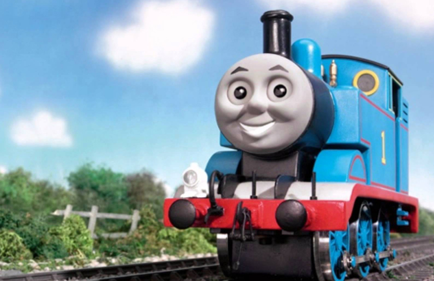 Thomas the Tank Engine, or Patrick from Looking?