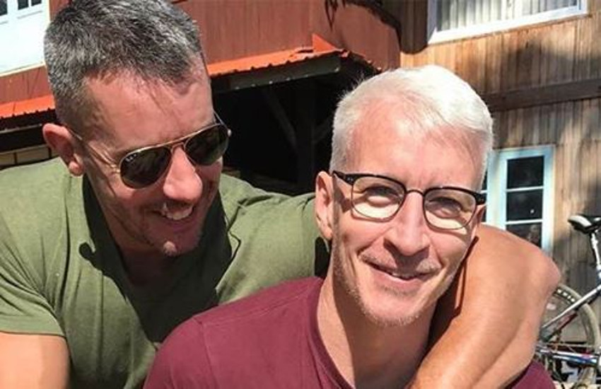 Anderson Cooper and partner Benjamin Maisani have been a couple since 2009.