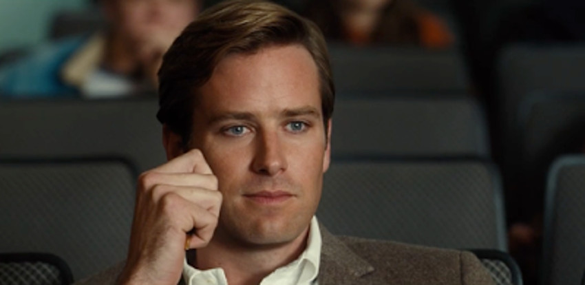 Armie Hammer plays the husband of Amy Adams in Nocturnal Animals.