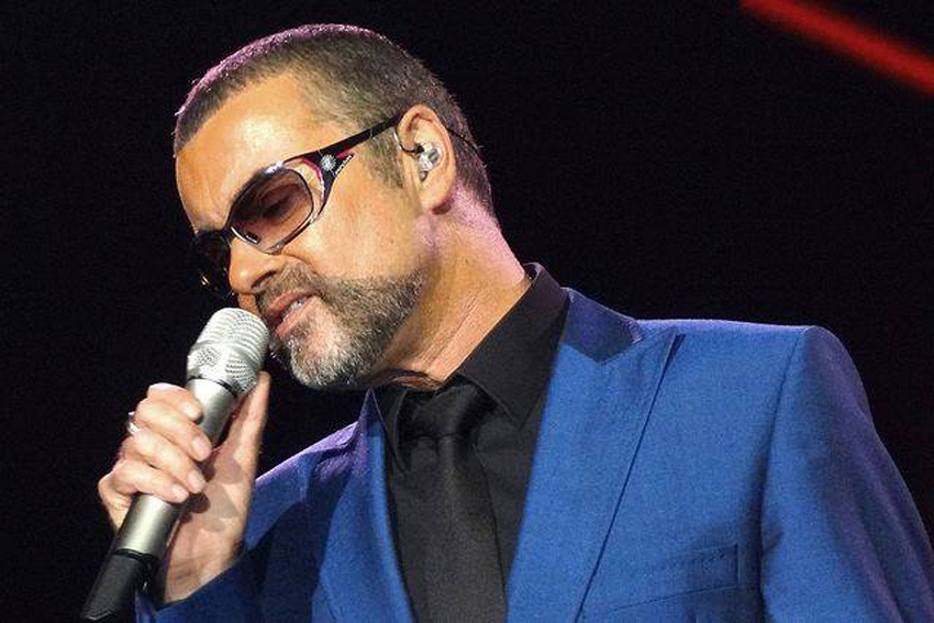 George Michael famously dueted with Elton John on Don't Let the Sun Go Down on Me