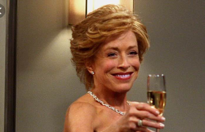Holland Taylor starred for 12 seasons on TV's Two and a Half Men.