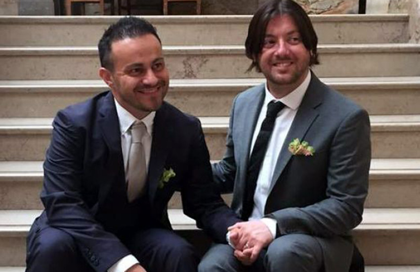 Marco Bulmer-Rizzi knows his partner's death certificate will finally be accurate